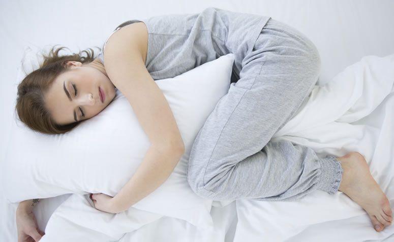 Idealna pozycja do spania