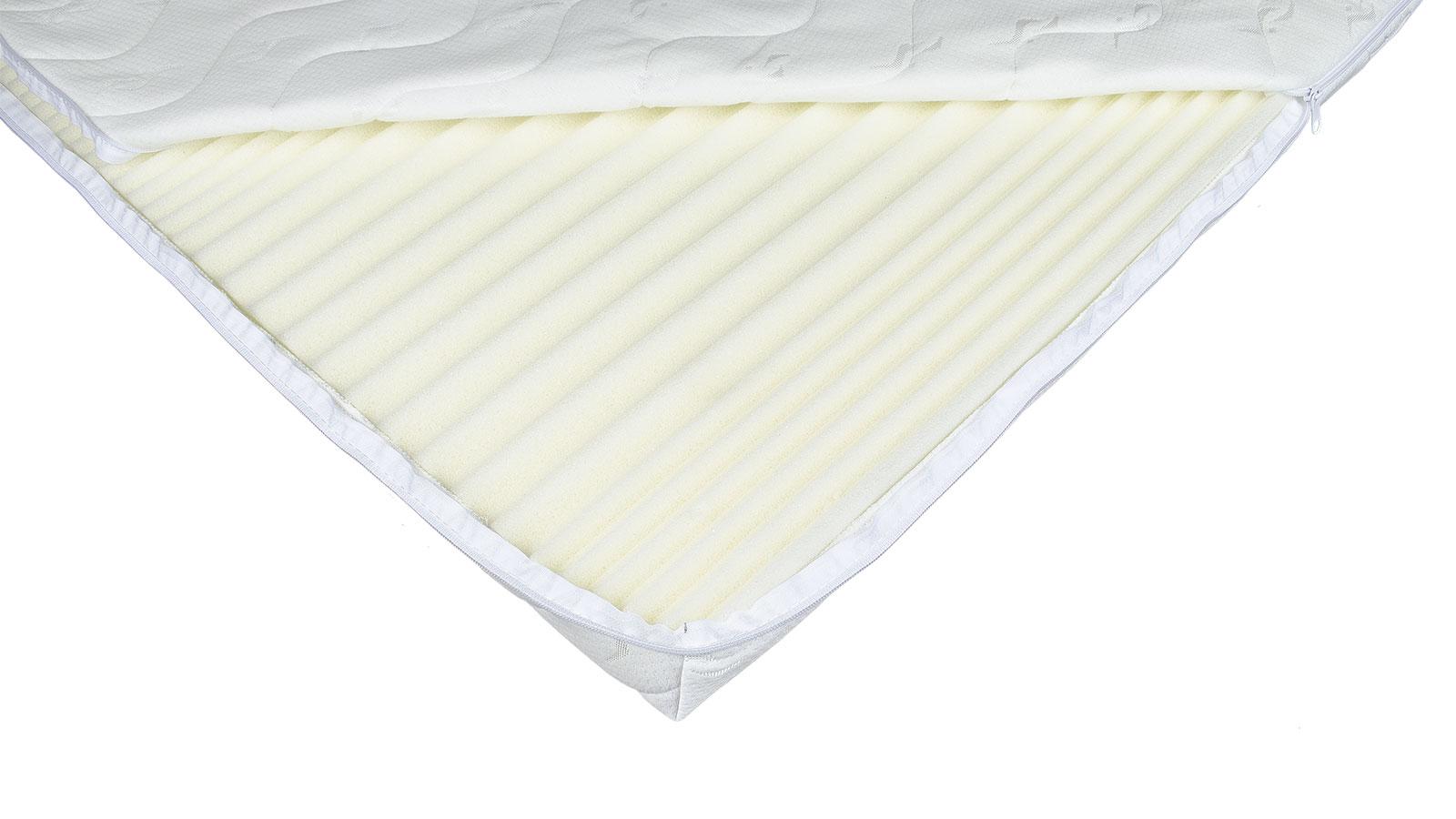 miękki materac nawierzchniowy - sposób na za twardy materac