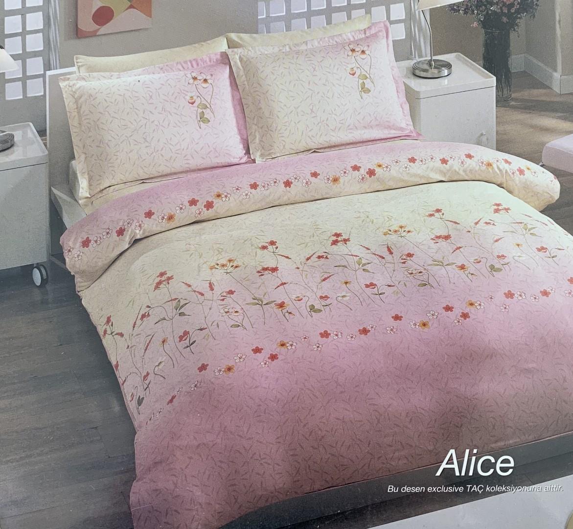 Komplet pościeli satynowej Alice 200x220cm