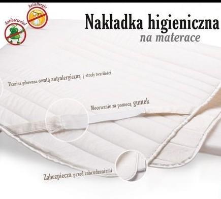 Nakładka higieniczna na materac